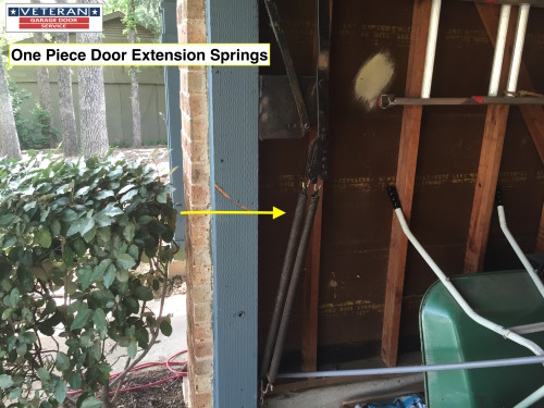 One- Piece Garage Door Extension Springs