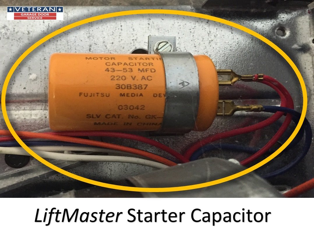 Garage Door Opener Genie 19988a Capacitor Wiring Diagram Drive Replace The Starter On A
