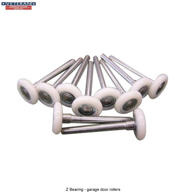 Garage door rollers - Z Bearing Nylon Garage Door Rollers 4 Inch Stem Bearing Best Performance