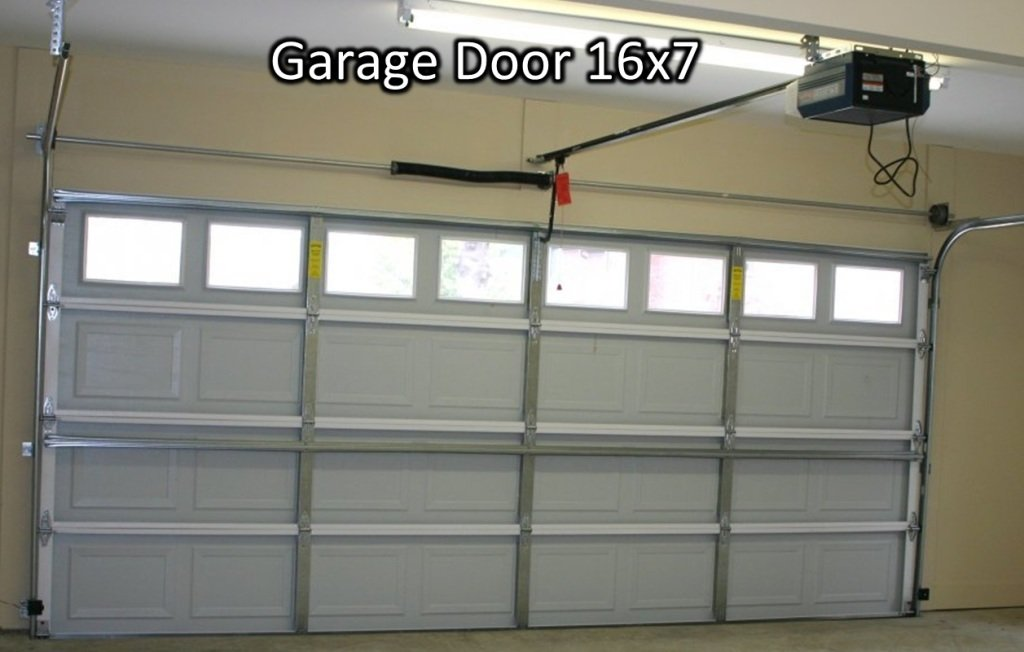 Photo 1 - Standard garage door 16x7 from inside