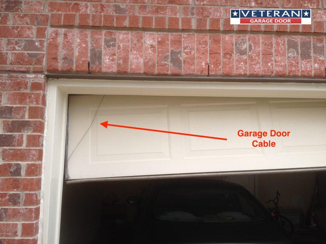 Garage door cables for Veteran garage door