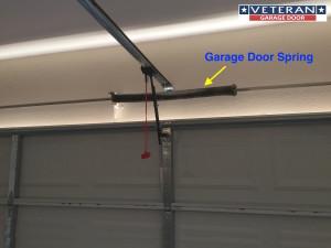 Questions about garage door springs veteran garage door for Veteran garage door