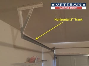 Questions about garage door tracks veteran garage door for Garage door track assembly