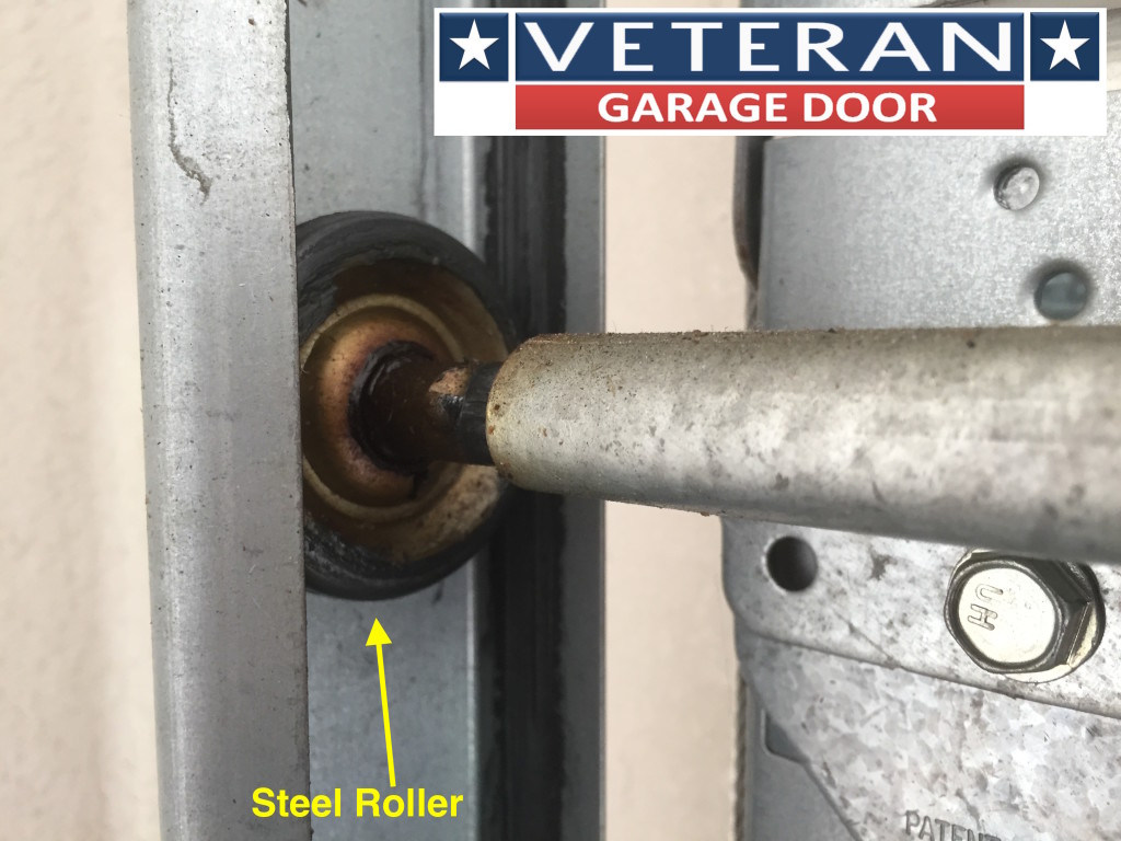 Garage door rollers - Steel Roller Garage Door