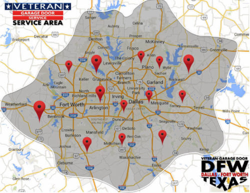veteran-garage-door-service-area-dallas-fort-worth-metro