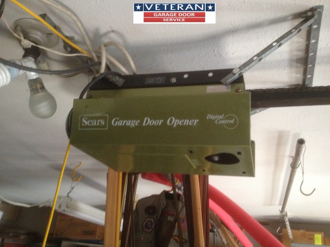 Older garage door opener for Garage door opens on its own