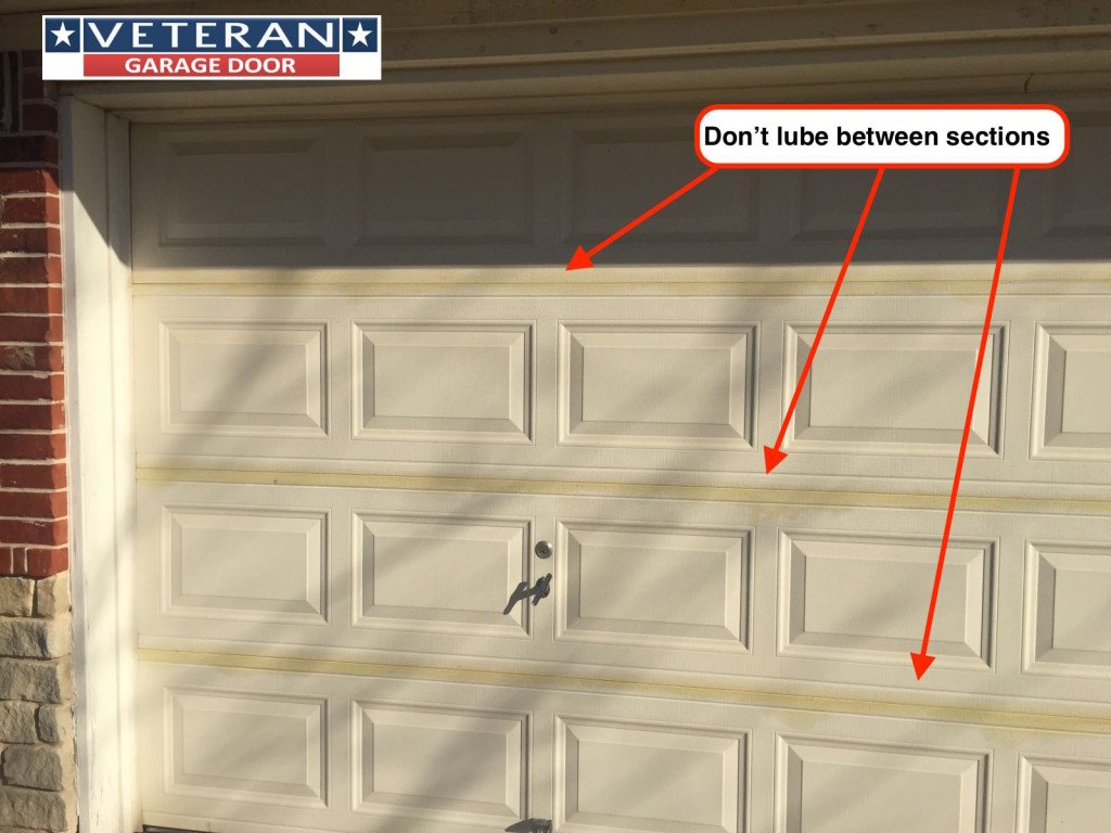 Which Parts Of Garage Door Should Lubricate And Oil