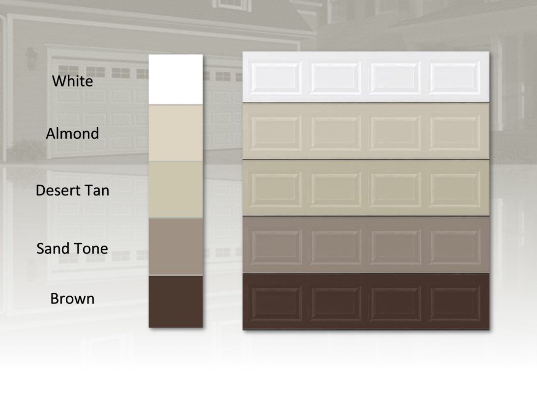 Garage door for Garage door colors