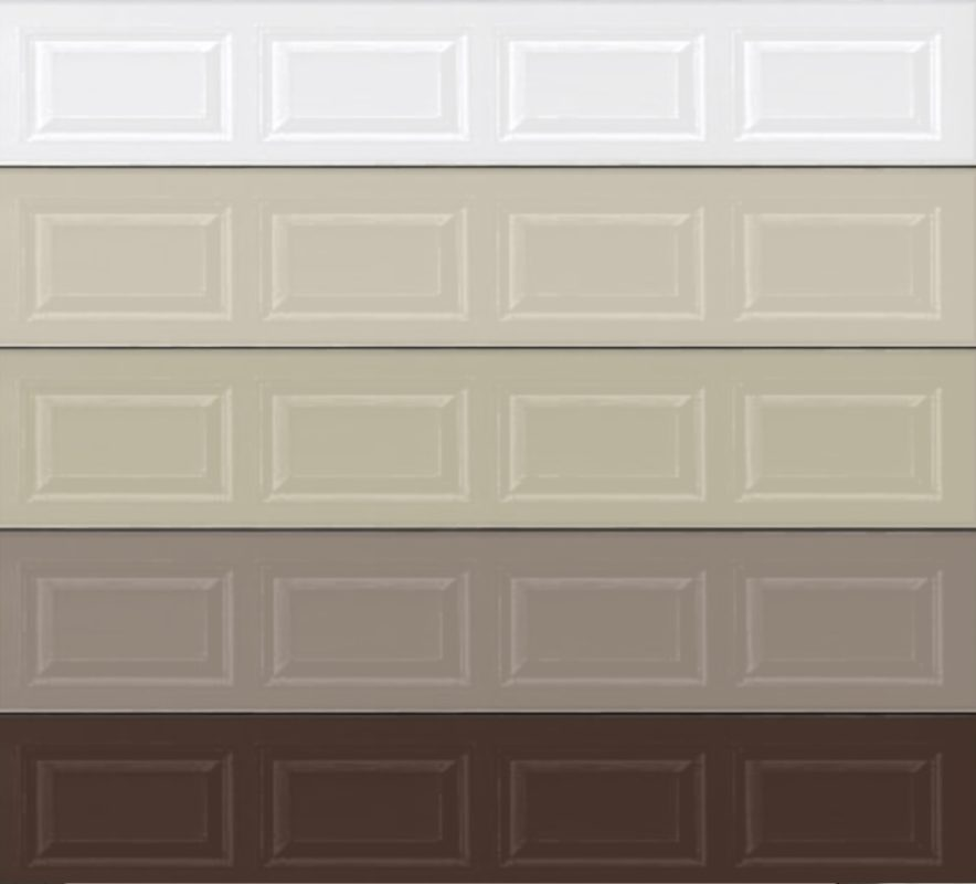 Garage door colors veteran garage door dfw for Garage door colors