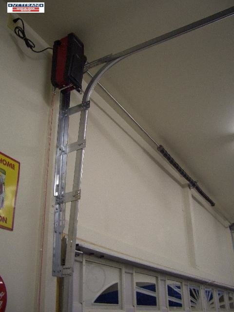 High Lift Garage Door Jackshaft