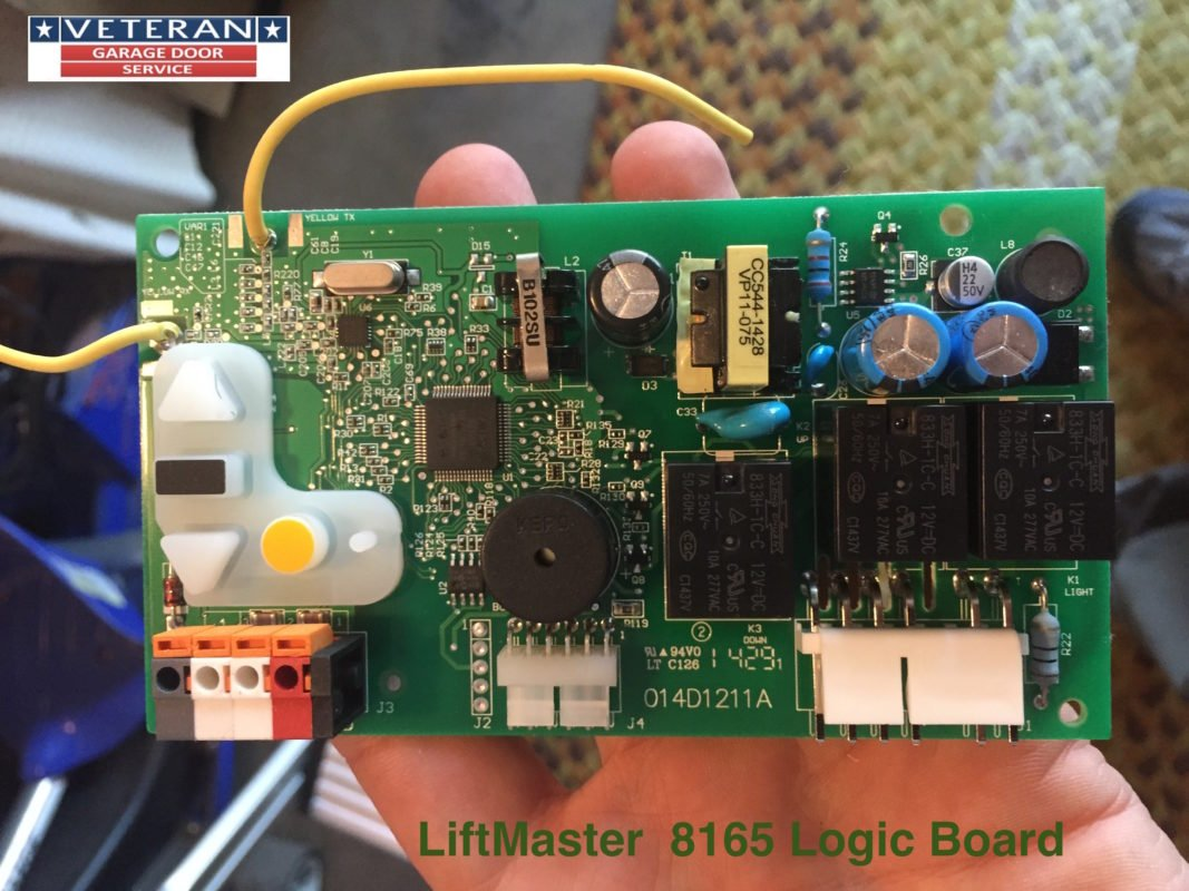 Lift master 8165 logic board for Garage door opens on its own