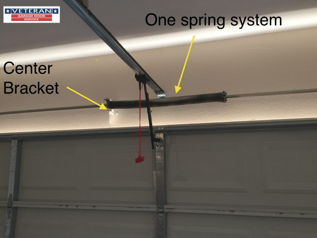 My Garage Door Spring Broke It Has One Spring Should I