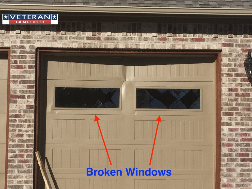 How do you repair a broken garage door window for Garage windows for sale