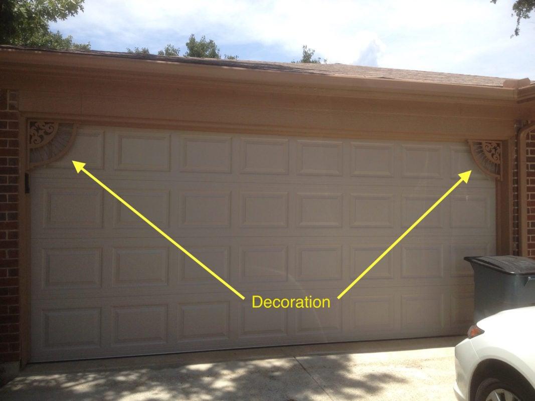 Garage Doors Dekoration : Garage door decoration