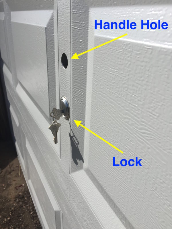 Vault Lock T Handle Hole