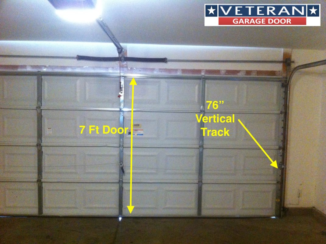 Ez lift garage door opener model 500 manual for How tall is a standard garage door