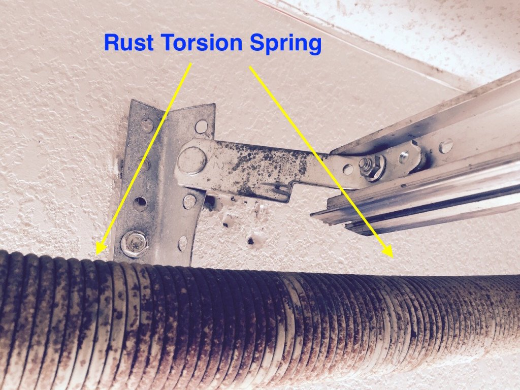 Garage Door Torsion Spring Rust