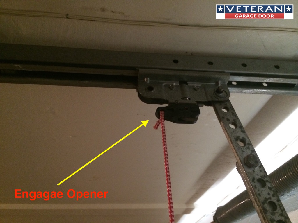 engage garage door opener