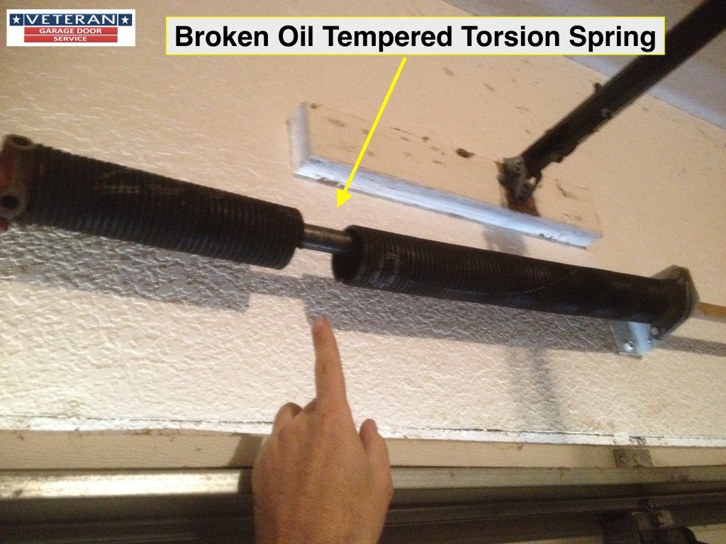 enclosed garage door springs. Broken-garage-door-spring-plano-tx Enclosed Garage Door Springs E