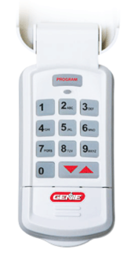 genie-keypad-garage-door-dallas