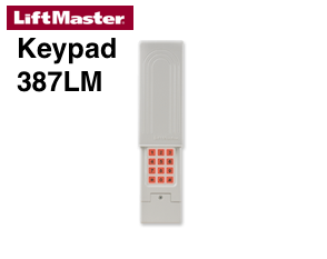 Programming Liftmaster 387lm Universal Wireless Keypad