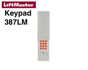 Liftmaster keypad orange learn