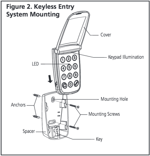 Programming The Marantec M3-631 Keyless Entry/Keypad