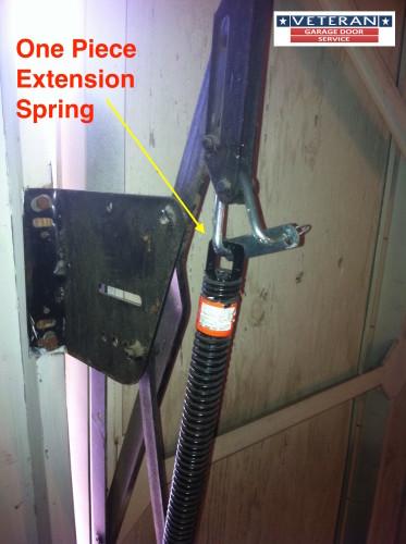 Extension Garage Door Spring Dallas Tx