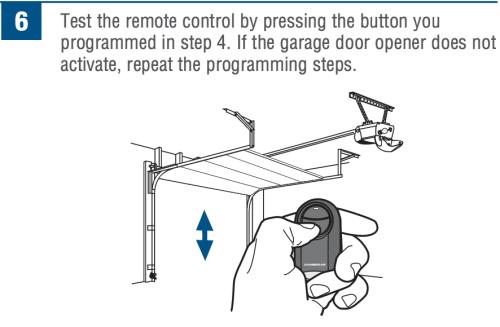 How To Program Chamberlain Universal Mini Remote Control