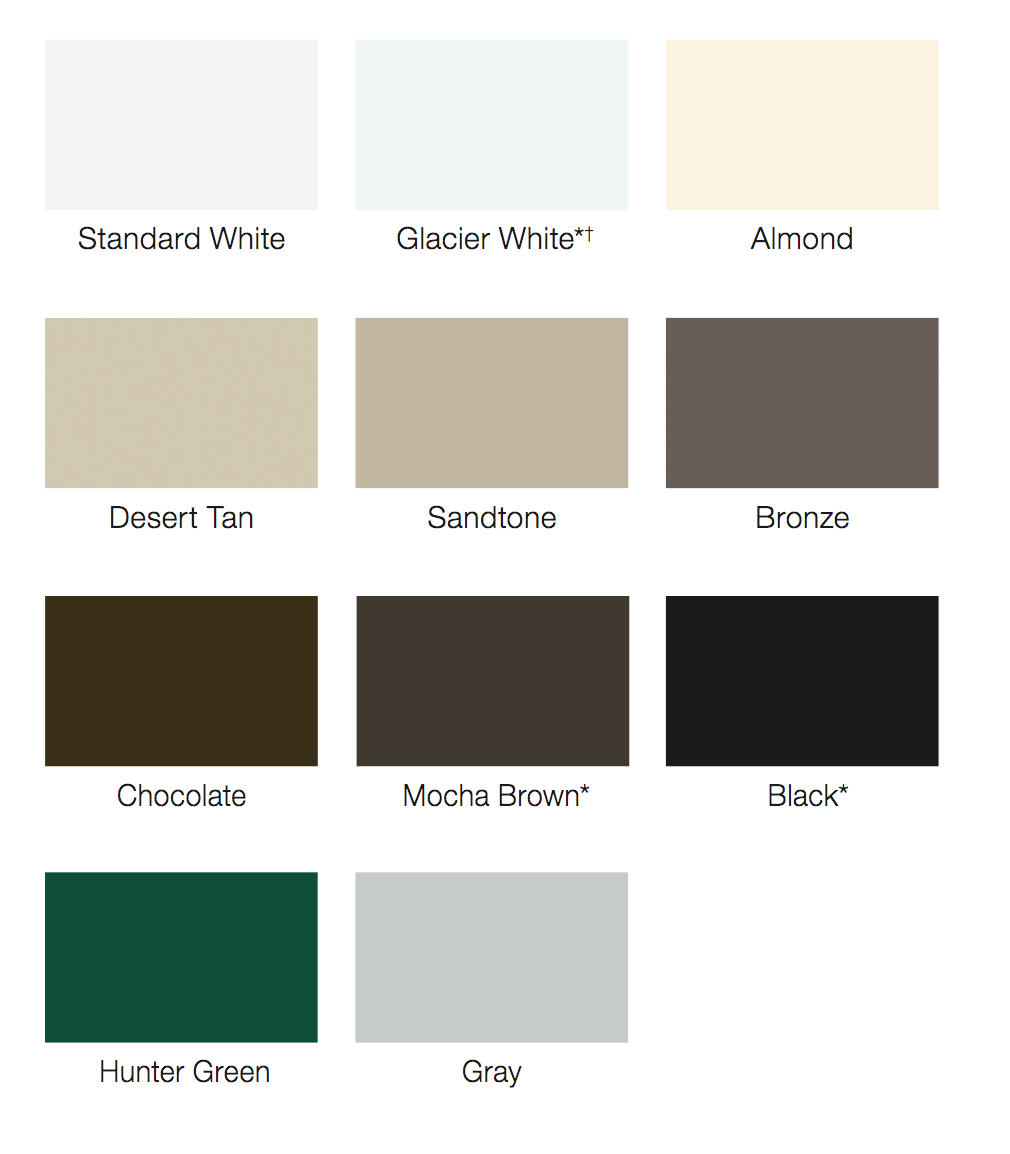 What Standard Colors Are Available For Garage Doors