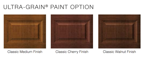 Wood Alike Paint Option Garage Door