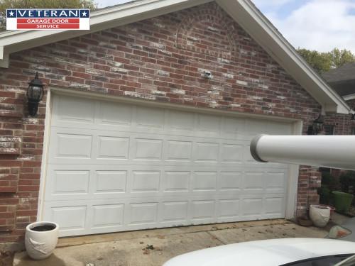 What is considered a standard garage door for Garage door company atlanta