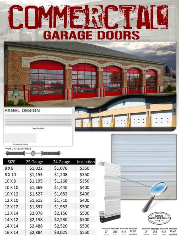 Commercial Garage Doors Installation Veteran Garage Door