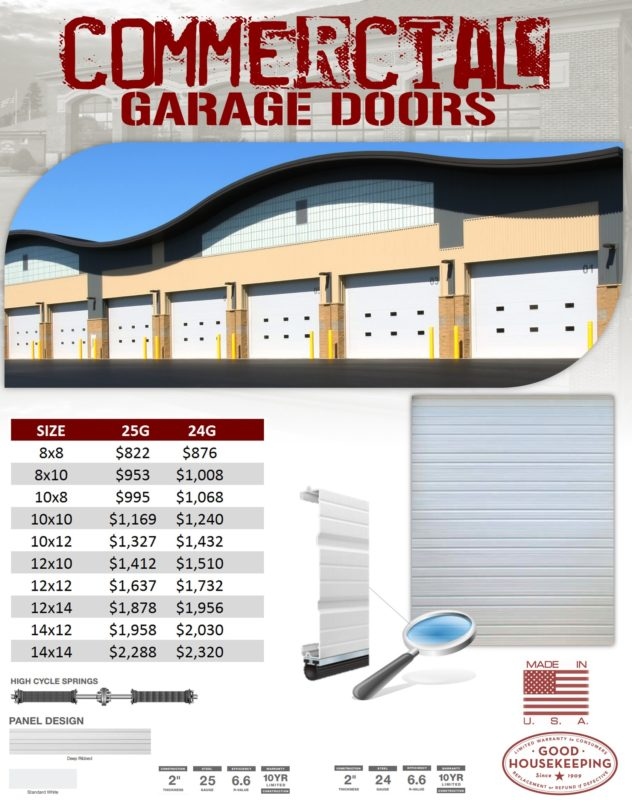 commercial-garage-doors-clopay-24-gauge-25-gauge-industries-best-veteran-garage-door