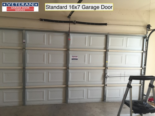 16 x 7 garage doorWhat is considered a Standard Garage Door