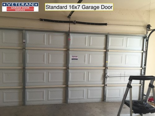 standard garage door 16x7. What is considered a Standard Garage Door