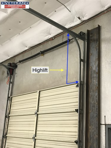 high lift garage door openerLift Door   Highlift Track 2 HL sc1stGaraga