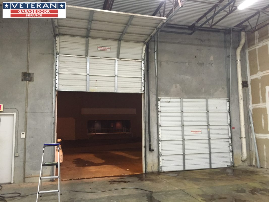 Is There A Low Headroom Commercial Garage Door