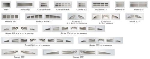 Is There More Than One Type Of Garage Door Window