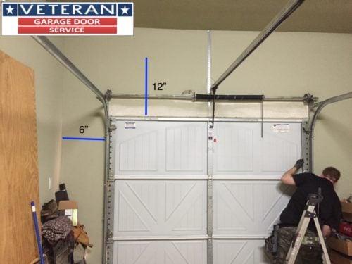 patented foot panels honeycomb news height garage drawing non fold door and bi warping