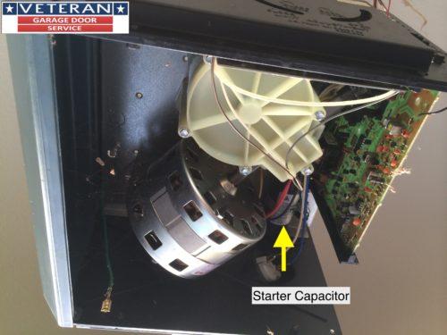garage door capacitorCan a garage door opener capacitor effect the logic board