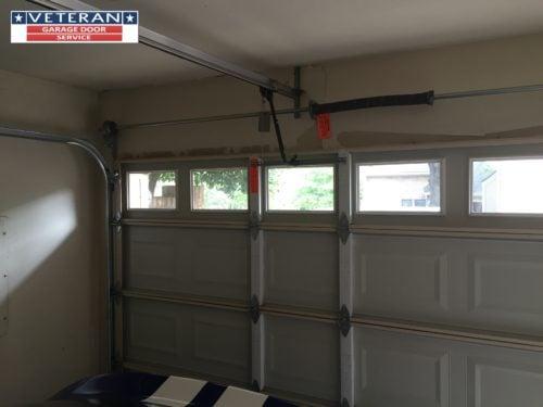 How can i secure my garage door against burglars for Veteran garage door