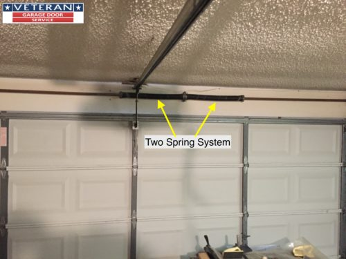 How can I maximize the life cycles on my garage door torsion