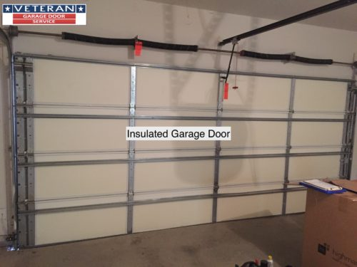 If You Are Considering Adding Insulation To An Uninsulated Garage Door First Need Determine What Type Of Going Add The