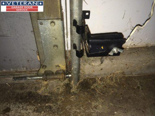 What should be inspected on your garage door opener for Fix garage door sensor