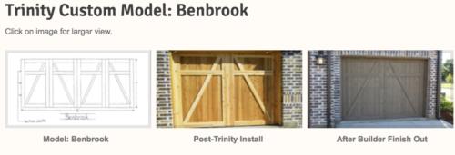Where can i get a custom garage door in the dallas fort for Garage door installation fort worth