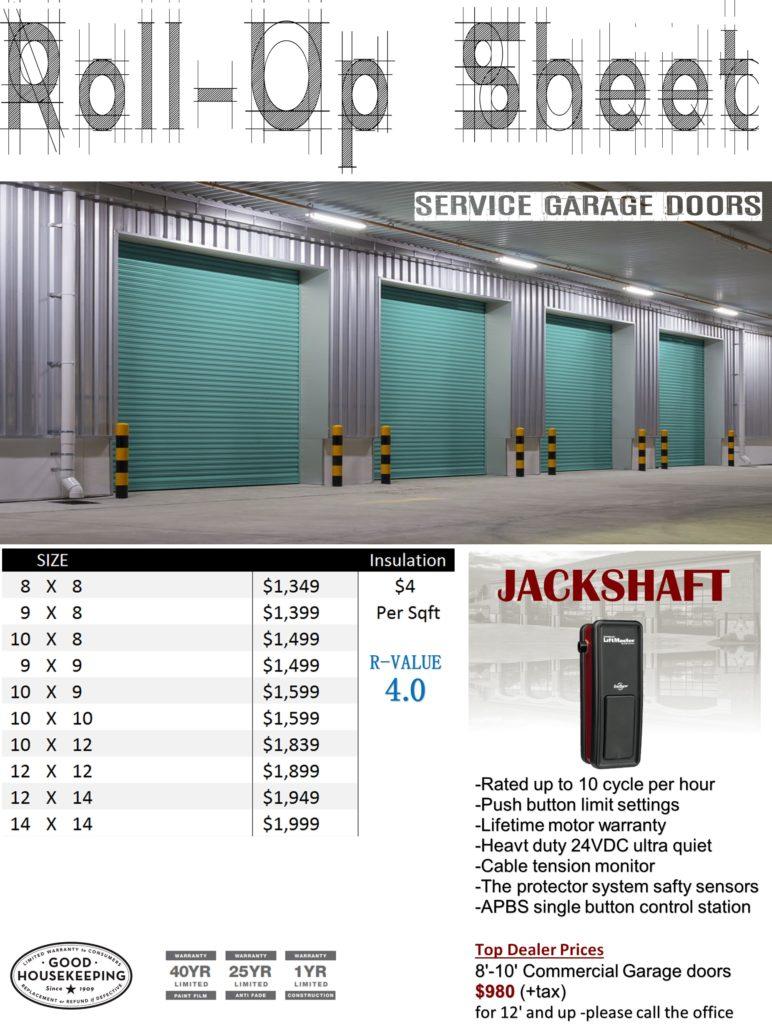 Roll Up Garage Doors Prices By Veteran Garage Door