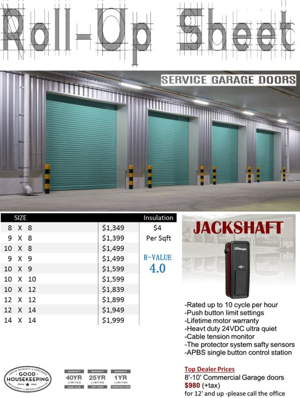 rollup garage steel door roll youtube watch up automated