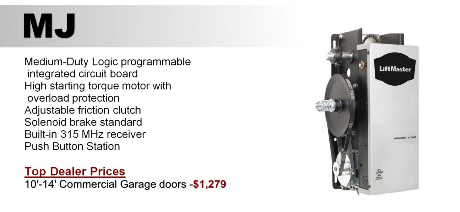 Commercial Garage Door Openers Same Day Installation