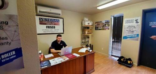 Veteran Garage Door Repair Frisco TX office